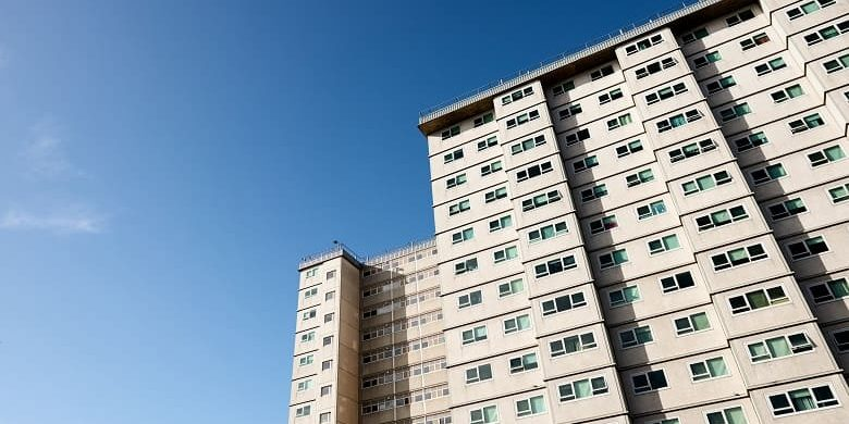 Public housing shifts to community sector