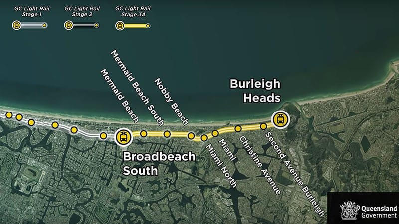 Government Commits $351m to Gold Coast Light Rail