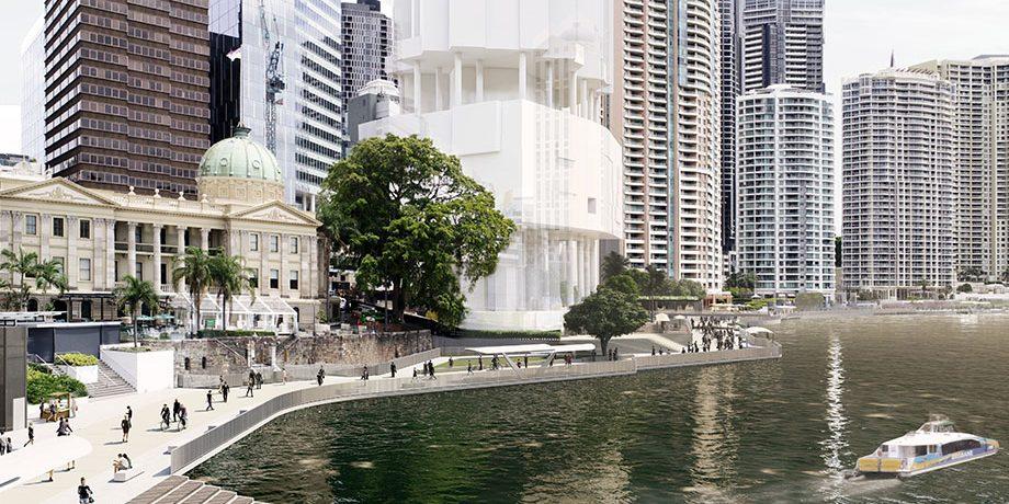Brisbane Plans CBD Riverfront Renewal