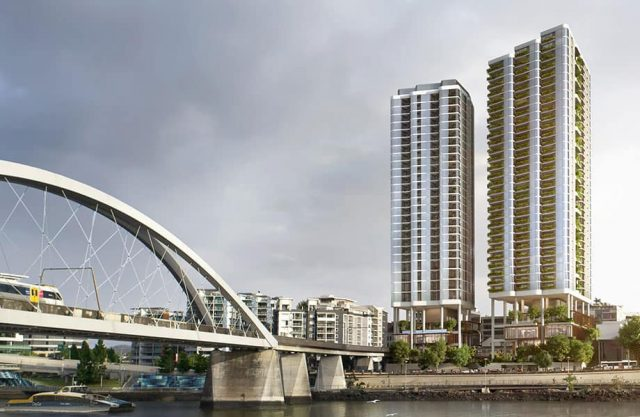 Plans Lodged for $200m Twin Tower Brisbane Apartments