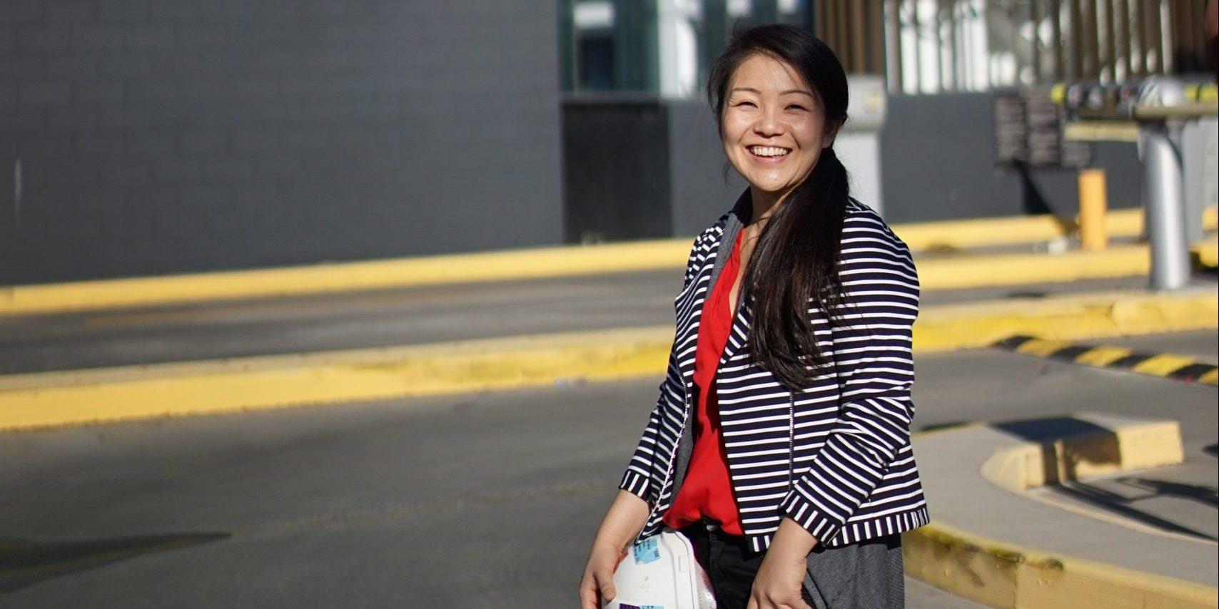 Angela Wang - Woman of the Week