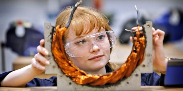 'We need to show girls that engineering is exciting': how role models can light a spark
