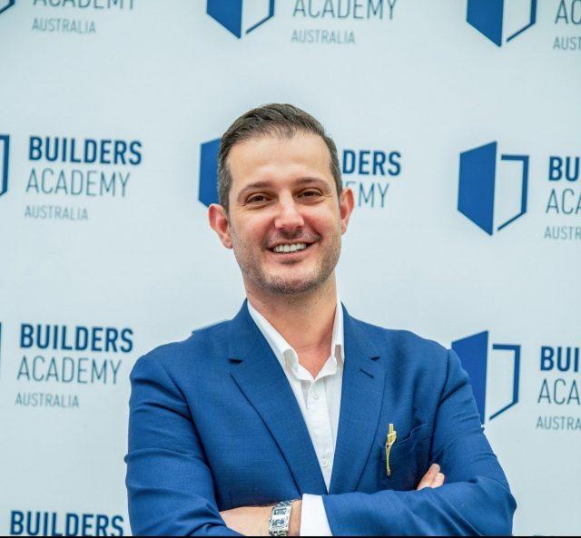 Ali Musai - Builders Academy Australia Male Champion