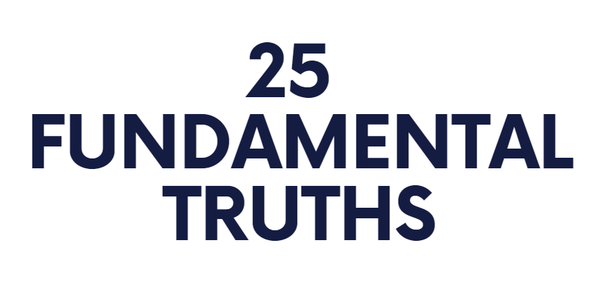 25 fundamental truths as presented by top 100 women